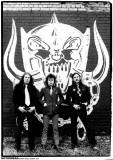 Motorhead-Harrow Rd 1979 Kunstdrucke