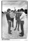 Joy Division-Strawberry Studios 1979 Poster