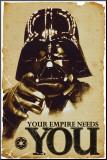 STAR WARS, Dit imperie har brug for dig, på engelsk Monteret tryk