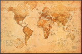 世界地図 パネルプリント