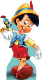 Pinocchio and Jiminy Cricket Cardboard Cutouts