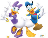 Donald & Daisy Dancing Cardboard Cutouts