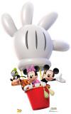 Mickey Balloon Ride Cardboard Cutouts