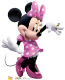 Minnie Dance Cardboard Cutouts
