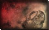 Certain Death Bedruckte aufgespannte Leinwand von Blake Votaw