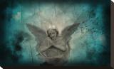 Say Goodnight Bedruckte aufgespannte Leinwand von Blake Votaw