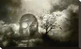 Shadows Fall Bedruckte aufgespannte Leinwand von Blake Votaw