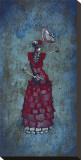 Flamenco Peligroso Stampa su tela di David Lozeau