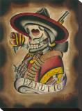 Bandito Stretched Canvas Print by Joshua Gargalione