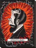 Sigmund Stretched Canvas Print by  Brother Greg