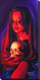 Fires Glow Bedruckte aufgespannte Leinwand von Manuel Valenzuela