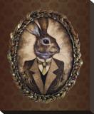 Handsome Jack (le lapin) Toile tendue sur châssis par  Larkin