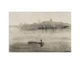 Nocturne Reproduction procédé giclée par James Abbott McNeill Whistler