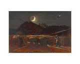 Cornfield by Moonlight Giclee Print by Samuel Palmer