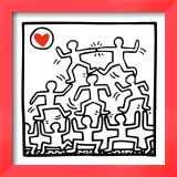 One Man Show (details) Prints by Keith Haring