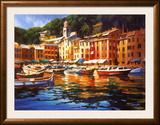 Portofino Colors Posters by Michael O'Toole