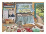 Apfelkuchen nach der Ernte Kunstdrucke von Janet Kruskamp
