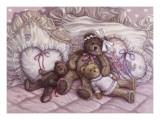 Zeit für ein Schläfchen Poster von Janet Kruskamp