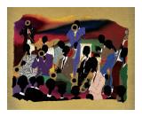 Big Band Posters af Leroy Campbell