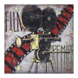 Rood tapijt Kunst van Janet Kruskamp