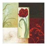 Tulip Square II Poster af Maria Woods