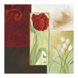 Tulip Square I Posters af Maria Woods
