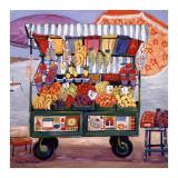 Seaside Market Posters tekijänä Suzanne Etienne