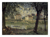 Louvecienne Print by Alfred Sisley