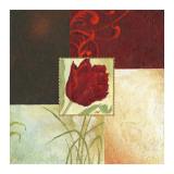 Tulip Square IV Posters af Maria Woods