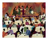 No Man's Band Bops At Mintons Plakater af Leroy Campbell