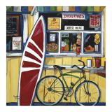 Esprit surf Affiches par Suzanne Etienne