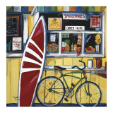 Surf Shack Stampe di Suzanne Etienne