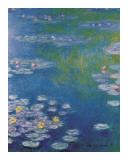Waterlilies at Giverny Art by Claude Monet