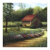 Garden Cottage Prints by Lene Alston Casey