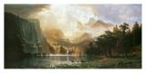 Sierra Nevada in California Print by Albert Bierstadt