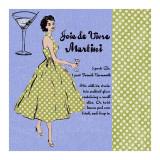 Martini Lady Kunstdruck von Lisa Ven Vertloh