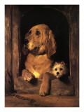 Dignity and Impudence Plakater af Edwin Henry Landseer
