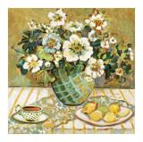 Lemon Floral Kunst von Suzanne Etienne