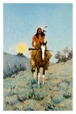 The Outlier Art by Frederic Sackrider Remington