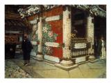 Shinto Temple in Nikko Poster von Vasily Vereshchagin