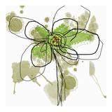 Butterfly Flower I Affiches par Jan Weiss