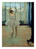 Dancer in Front of a Window Prints by Edgar Degas