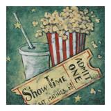 Show Time Kunstdrucke von Janet Kruskamp