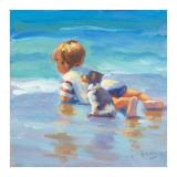 Waterboy Schilderijen van Lucelle Raad