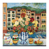 Canal View Kunst von Suzanne Etienne