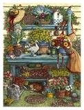 Welcome to Spring Poster von Janet Kruskamp