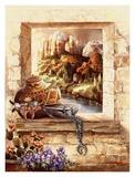 Pottery Window Affiche par Alma Lee