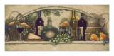 Wine, Fruite 'n Cheese Affiches par Janet Kruskamp