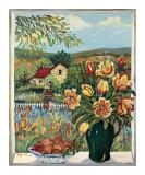 Farmland View Poster par Suzanne Etienne