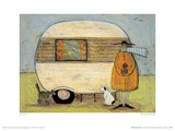 Home From Home Giclee Print by Sam Toft